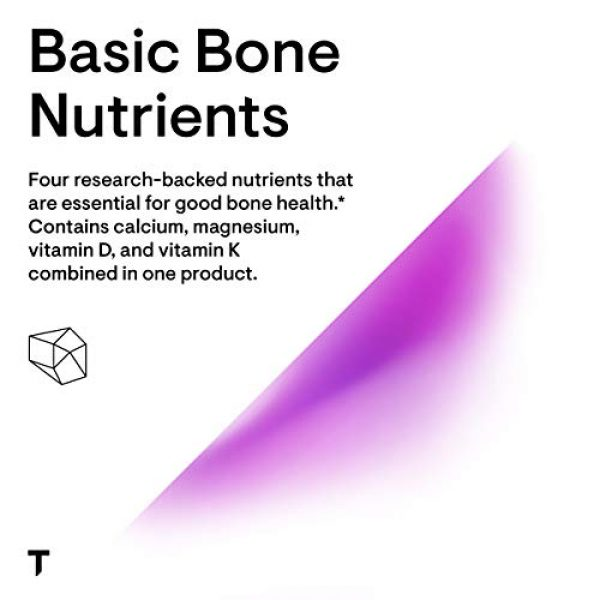 Thorne Research Calcium Supplement 4 Thorne Research - Basic Bone Nutrients - Calcium, Magnesium, Vitamin D, and Vitamin K - 120 Capsules