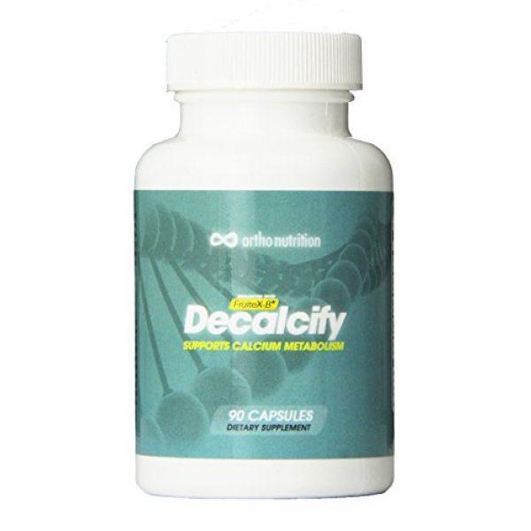 Ortho Nutrition Calcium Supplement 4 Decalcify - Fruitex-B, Vitamin K2 (MK4 and MK7), Magnesium and Potassium Orotate, 90 Vegetarian Capsules