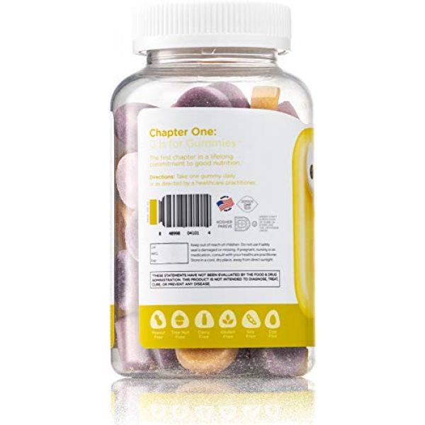 Zahler Calcium Supplement 3 Chapter Calcium with Vitamin D3 Gummies, Bone Building Chewable Gummies, Certified Kosher, 60 Flavored Gummies