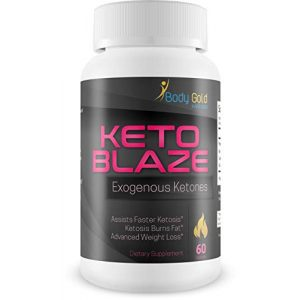 Body Gold Wellness Calcium Supplement 1 Keto Blaze Extreme Weight Loss - Exogenous Ketones - Assist Faster Ketosis - Calcium, Magnesium and Sodium Keto Salts. BHB - Keto Pills - Burn Fat For Energy Instead of Carbs - Keto Diet