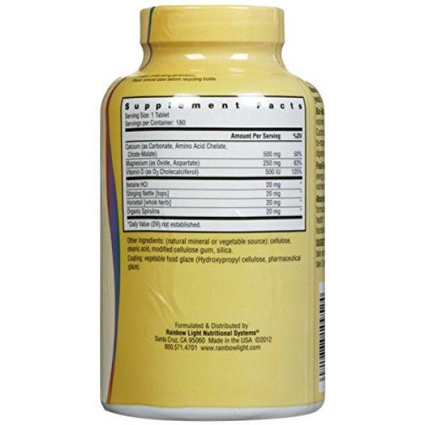 Rainbow Light Calcium Supplement 2 Rainbow Light Food Based Calcium Tablets, 180 Count