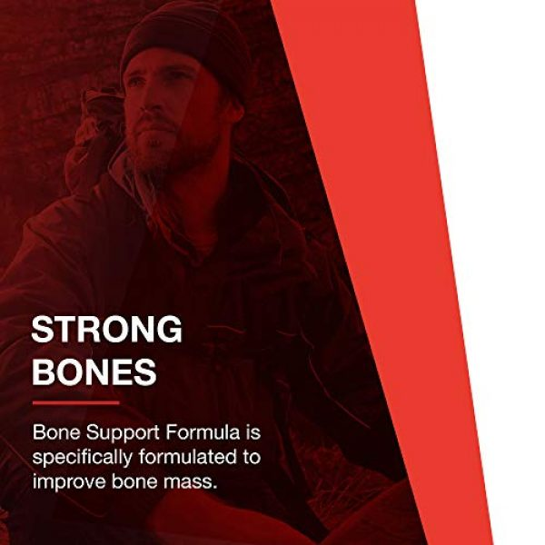Protocol For Life Balance Calcium Supplement 3 Protocol For Life Balance - Bone Support Formula - with Magnesium and Vitamins C, D, K2 to Support Bone and Teeth Structure, Bone Density, Calcium Absorption, and Joint Pain Relief - 180 Capsules