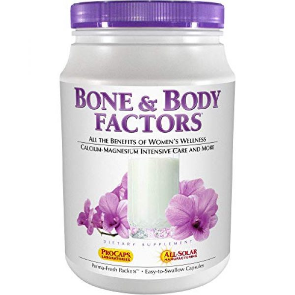 ANDREW LESSMAN Calcium Supplement 1 Andrew Lessman Bone & Body Factors 180 Packets - Combined Benefits of Calcium-Magnesium Intensive Care, Women's Wellness and More, Supports Bone Health and Special Needs of Women at All Stages of Life