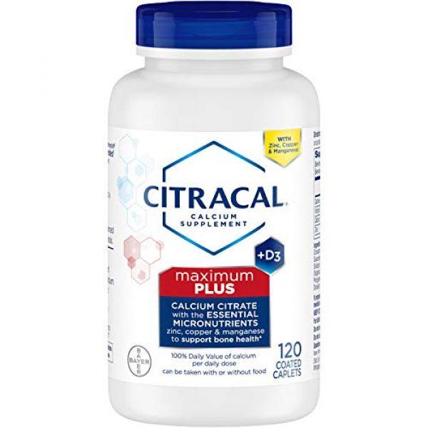 CITRACAL Calcium Supplement 2 Citracal Maximum Plus Coated Caplets, 120 ea