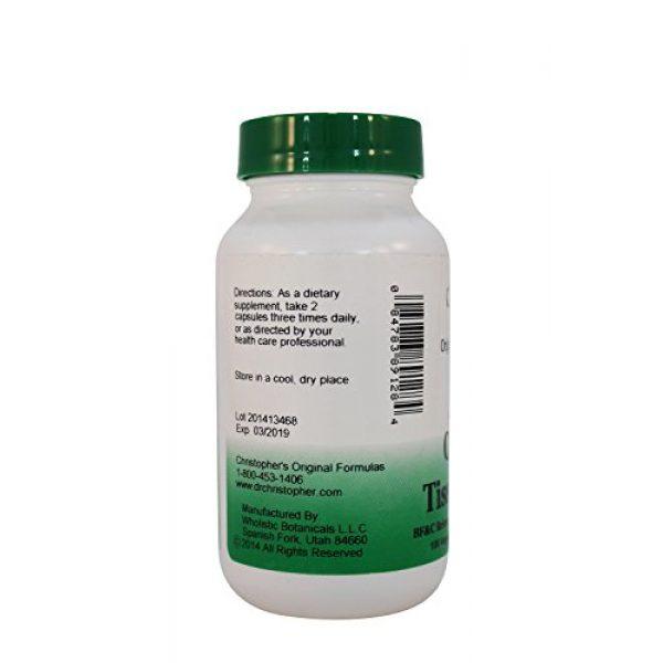 Dr. Christopher's Calcium Supplement 2 Dr.ChristopherS Formulas Complete Tissue Formula 100 Cap Pack of 3