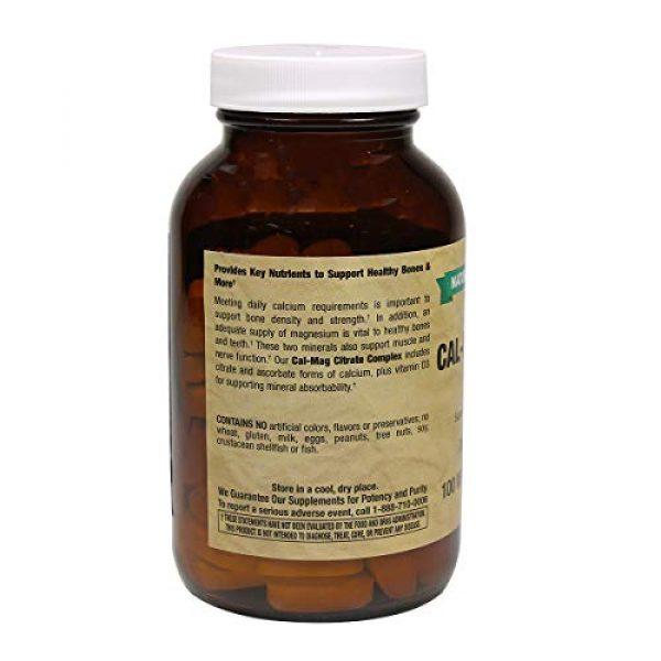 Natural Vitamin Co. Calcium Supplement 2 Natural Vitamin Co. - Cal-Mag Citrate Complex with Vitamin D3, Calcium 1000 mg, Magnesium 500 mg, Vitamin D3 400 IU, 100 Tablets, 1 Month Supply, Gluten Free, Vegetarian (100)