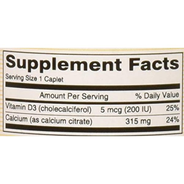 MASON Calcium Supplement 5 Mason Natural CALCIUM CITRATE W/VIT D3 compare to CITRICAL + D 60-Count (Pack of 3)