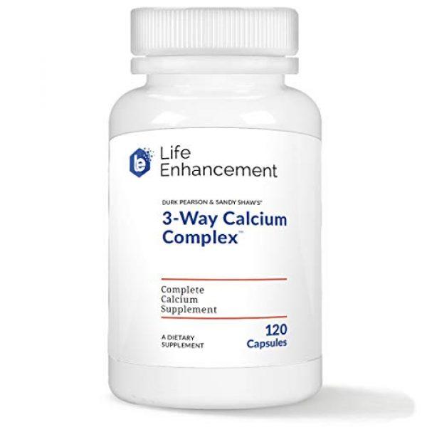 Life Enhancement Calcium Supplement 1 Life Enhancement 3-Way Calcium Complex   275 mg Calcium, 2494 IU Vitamin A, Vitamin C, and 200 IU Vitamin D3   120 Servings
