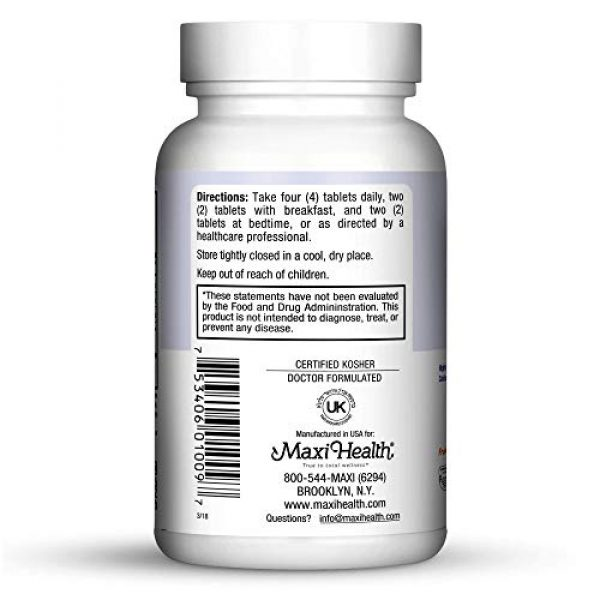 Maxi Health Calcium Supplement 3 Maxi Health Cal-Max - Calcium Citrate with Vitamin D3 and Magnesium for Healthy Bone, Muscle, and Joints - 1000mg Calcium, 750mg Magnesium, and 400IU D3 - Immune Support for Adults - 90 Tablets