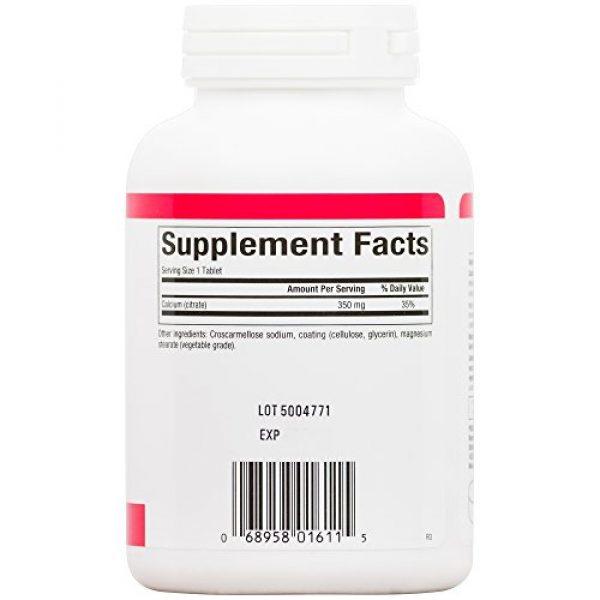 Natural Factors Calcium Supplement 4 Natural Factors, Calcium Citrate, Helps Maintain Strong Bones and Teeth, 90 tablets (90 servings)
