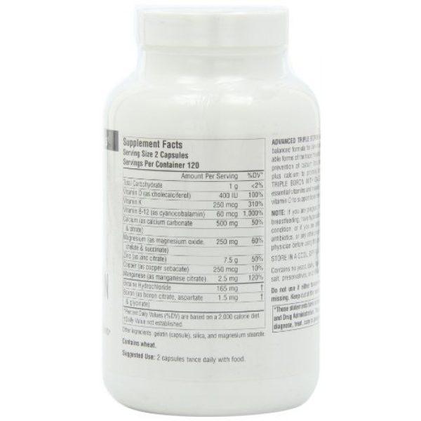 Source Naturals Calcium Supplement 3 SOURCE NATURALS Advanced Triple Boron with Calcium Capsule, 240 Count