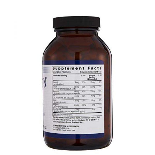Twinlab Calcium Supplement 4 TwinLab Tri-Boron Plus, Magnesium, Vitamin D, Calcium, Dietary Supplements, 3mg, 240 Capsules, Healthy Bones