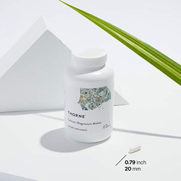 Thorne Research Calcium Supplement 3 Thorne Research - Calcium-Magnesium Malate - 240 Capsules