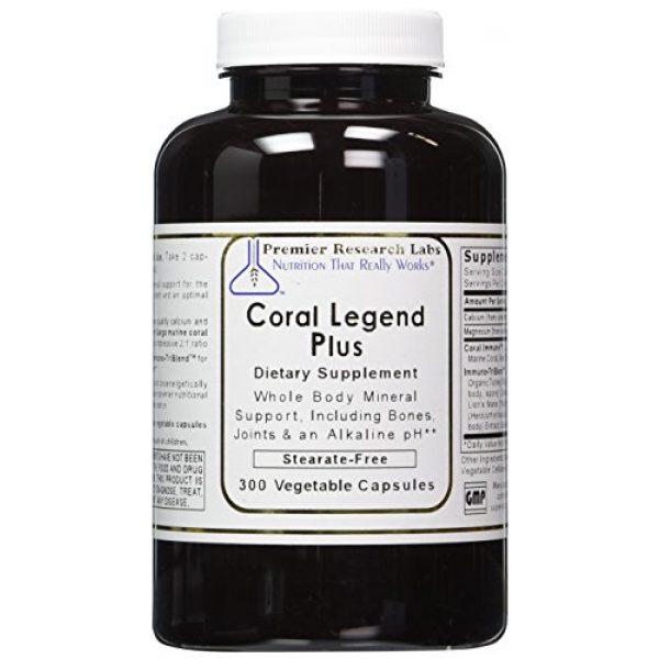 Premier Research Labs Calcium Supplement 1 PREMIER RESEARCH LABS Coral Legend Plus - 300 Capsules