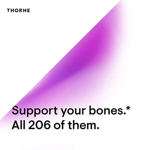 Thorne Research Calcium Supplement 5 Thorne Research - Basic Bone Nutrients - Calcium, Magnesium, Vitamin D, and Vitamin K - 120 Capsules