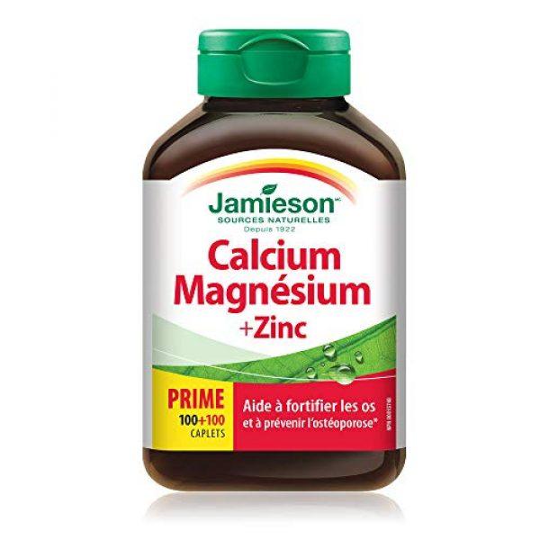 Jamieson Calcium Supplement 2 Jamieson Calcium Magnesium + Zinc