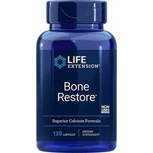 Life Extension Calcium Supplement 1 Life Extension Bone Re 120 Capsules