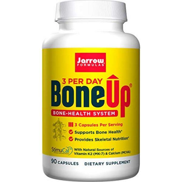 Jarrow Formulas Calcium Supplement 1 Jarrow Formulas Bone-Up-Three Per Day Caps, Promotes Bone Density, 90 Count