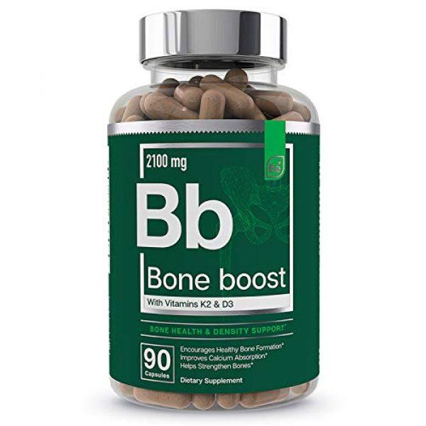 Essential Elements Calcium Supplement 1 Bone Boost Bone Health Supplement - Calcium, Vitamin D3, K2, Cissus Quadrangularis | Essential Elements for Bone Strength - 90 Capsules (30 Day Supply)