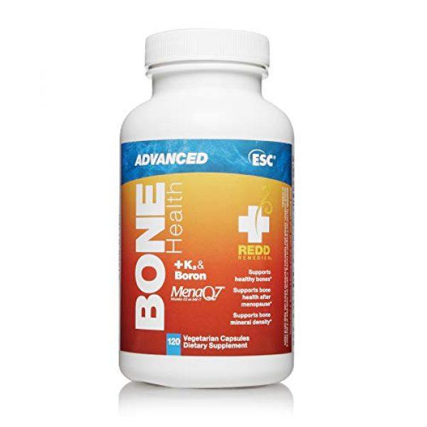 Redd Remedies Calcium Supplement 1 Redd Remedies, Bone Health Advanced, Supports Bone Mineral Density, 120 Capsules