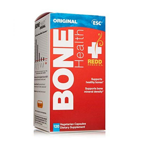 Redd Remedies Calcium Supplement 3 Redd Remedies, Bone Health Original, Supports Bone Mineral Density, 120 Capsules