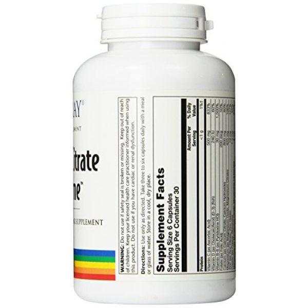 Solaray Calcium Supplement 2 Solaray Calcium Citrate Supreme Capsules, 800mg, 180 Count