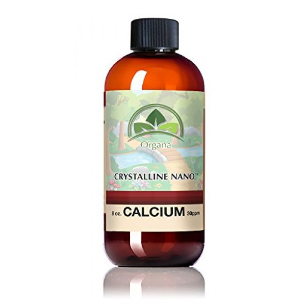 TraceMinerals.org Calcium Supplement 1 The Best Calcium Mineral Supplement - Nano Sized Calcium Single Mineral Supplement