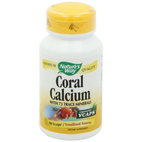 Nature's Way Calcium Supplement 7 Nature's Way Coral Calcium 600 mg w/vitamins & minerals, 90 Count