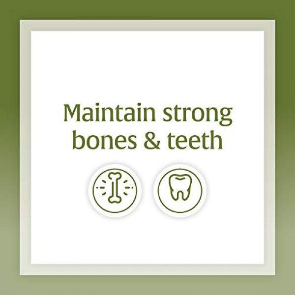 Natural Factors Calcium Supplement 3 Natural Factors, Calcium & Magnesium Citrate with Vitamin D3, Support for Bones and Teeth, 180 Tablets