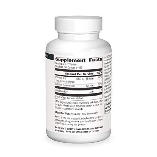 Source Naturals Calcium Supplement 3 Source Naturals Coral Calcium 600mg, 240 Tablets