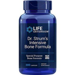 Life Extension Calcium Supplement 1 Life Extension Dr. Strum's Intensive Bone Formula, 300 Capsules