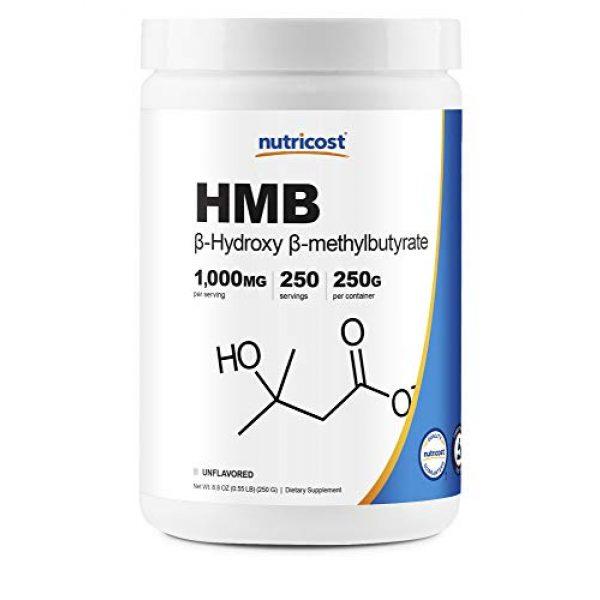 Nutricost Calcium Supplement 1 Nutricost HMB Powder (Beta-Hydroxy Beta-Methylbutyrate) 250 Grams - Gluten Free & Non-GMO
