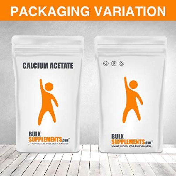 BULKSUPPLEMENTS.COM Calcium Supplement 6 Calcium Acetate (100g)