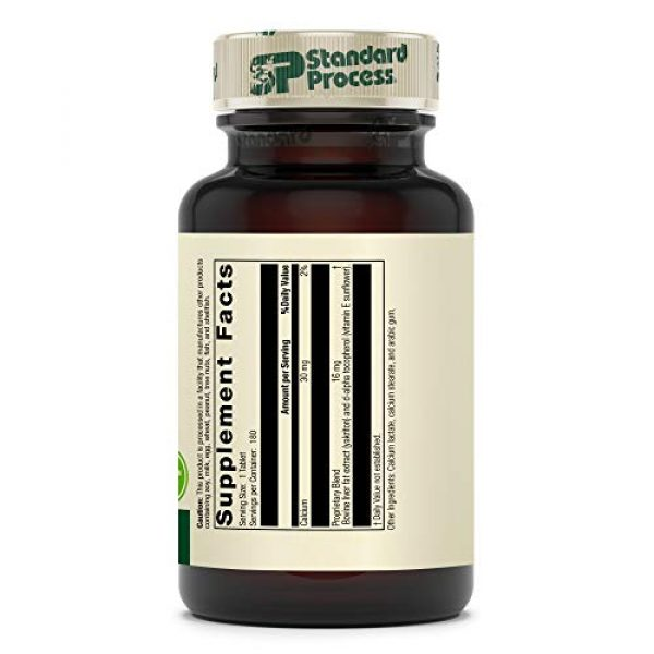 Standard Process Calcium Supplement 2 Standard Process Antronex - Whole Food Immune System Support and Liver Health Supplement with Calcium - 180 Tablets