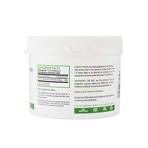 Heiltropfen Calcium Supplement 2 Calcium Carbonate Powder, Pharmaceutical Grade, 1lb-454g, Highest Purity Limestone, Heiltropfen®