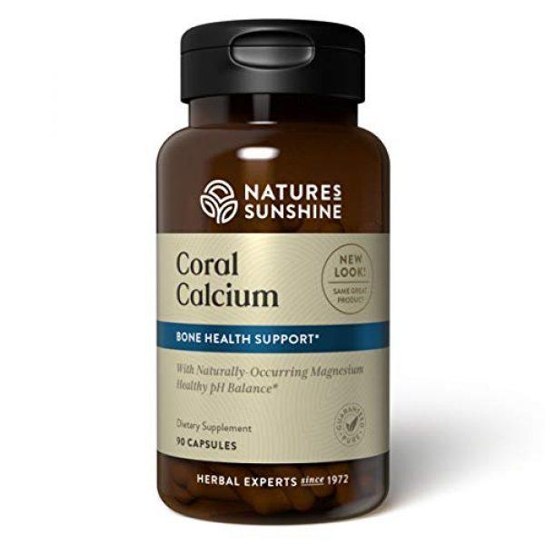 Nature's Sunshine Calcium Supplement 1 Nature's Sunshine Coral Calcium Capsules 90 Capsules
