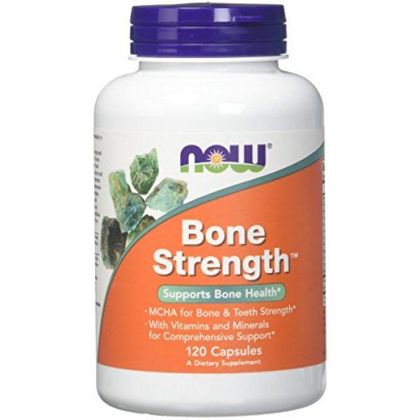 NOW Foods Calcium Supplement 1 Now Foods Bone Strength - 120 Capsules