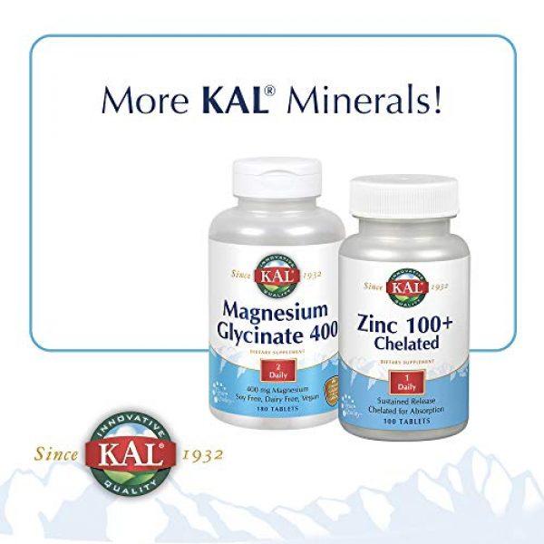 KAL Calcium Supplement 6 KAL Calcium Citrate, 1000 mg, 180 tabs