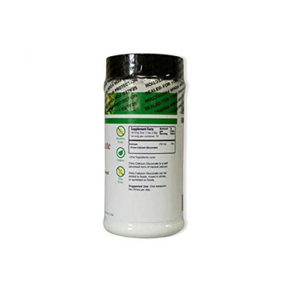 Daily Manufacturing Calcium Supplement 2 Daily Manufacturing Calcium Gluconate Powder 7 oz, 200 Grams Natural Calcium Dietary Supplement (2)