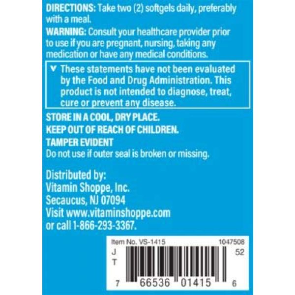 The Vitamin Shoppe Calcium Supplement 3 Calcium (Carbonate) 1000mg - Mineral Essential for Healthy Bones Teeth - Added 400IU Vitamin D to Aid in Absorption (100 Softgels) by The Vitamin Shoppe