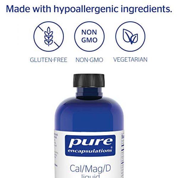 Pure Encapsulations Calcium Supplement 4 Pure Encapsulations - Cal/Mag/D Liquid - Calcium, Magnesium and Vitamin D in a Convenient Liquid Form - 16.2 fl. oz.