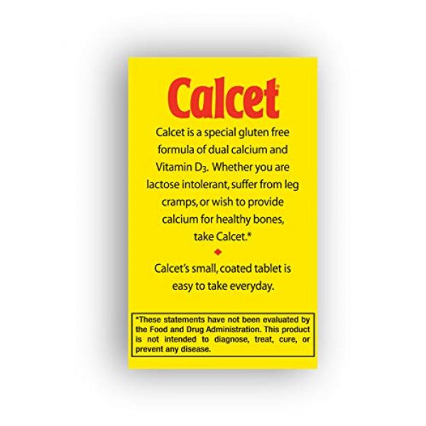 Mission Pharmacal Calcium Supplement 6 Mission Pharmacal Calcet Petites, 100 Small Coated Tablets