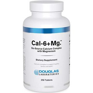 Douglas Labs Calcium Supplement 1 Douglas Laboratories - Cal-6 + Mg. - Six-Source Calcium Complex with Magnesium to Support Healthy Bones and Teeth - 250 Tablets
