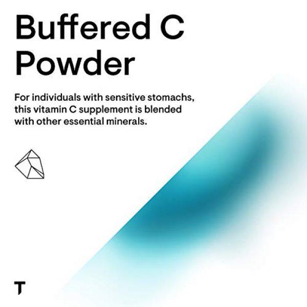 Thorne Research Calcium Supplement 4 Thorne Research - Buffered C Powder - Vitamin C (Ascorbic Acid) with Calcium, Magnesium, and Potassium - 8.15 oz