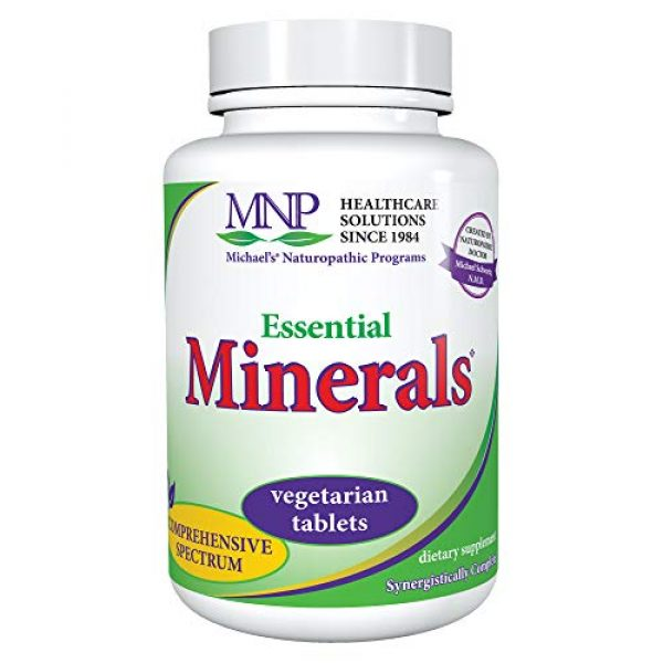 MICHAEL'S Calcium Supplement 1 Michael's Naturopathic Programs Essential Minerals - 240 Vegan Tablets - Supports Nerve Communication & Proper Functioning of Muscles - Vegetarian, Kosher - 60 Servings