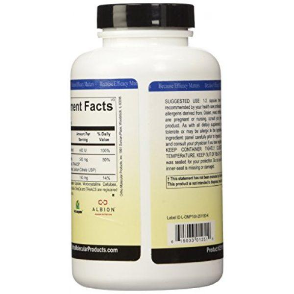 Ortho Molecular Calcium Supplement 3 Ortho Molecular - Reacted Calcium - 180 Capsules