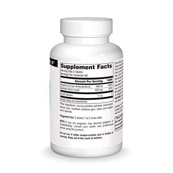 Source Naturals Calcium Supplement 3 Source Naturals Coral Calcium, 120 Tablets
