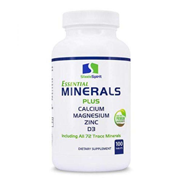 Steele Spirit Calcium Supplement 1 Multimineral with 1000mg Calcium Magnesium Zinc D3