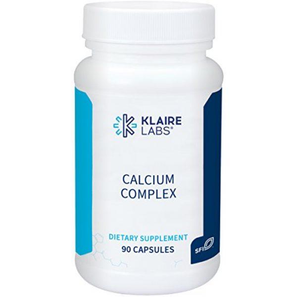 Klaire Labs Calcium Supplement 1 Klaire Labs Calcium Complex - Certified BSE-Free Calcium Microcrystalline Hydroxyapatite & Citrate with Phosphorus (90 Capsules)