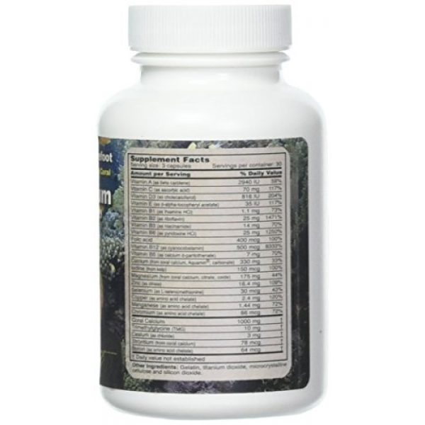Bob Barefoot's Calcium Supplement 2 Bob Barefoot'S Coral Calcium Supreme, 3 Count